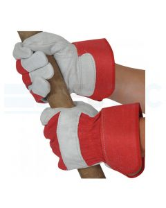 Heavy Duty Red Rigger Gloves