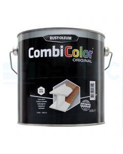 Combi Colour Satin Gloss White 2.5ltr