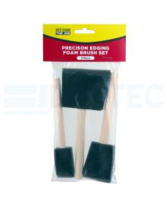 Fit For The Job Foam Paint Brushes Set