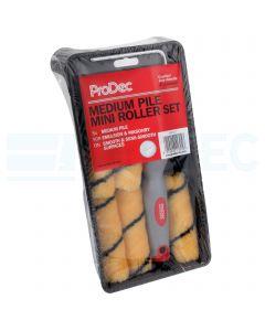 ProDec Medium Pile Tiger Mini Roller tray set