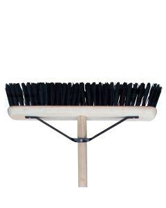 PVC Broom Plastic Bristle Sweeping Brush