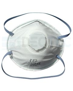 Respirator Valved Cup Dust Mask