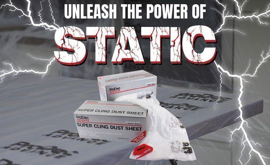 Super Cling Dust Sheets